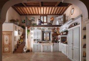 A vidék bája – Mediterrán stílusú, rusztikus épített konyhák ...